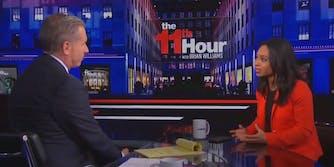 Brian Williams and Mara Gay on MSNBC