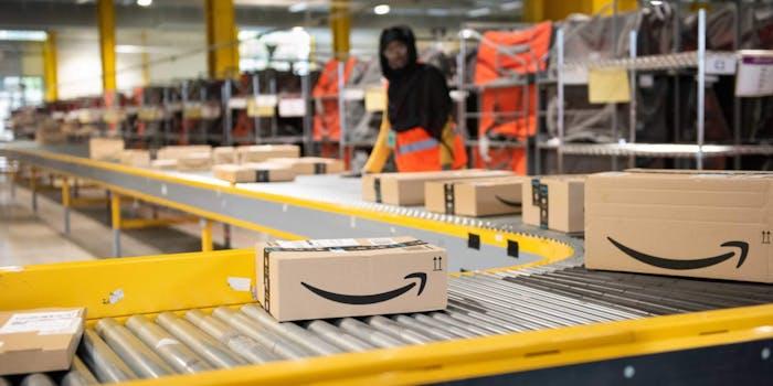 Amazon Warehouse Strike New York Coronavirus
