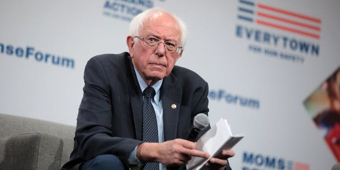 Bernie Sanders website