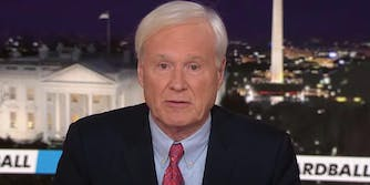 Chris Matthews announcing his retirement from MSNBC