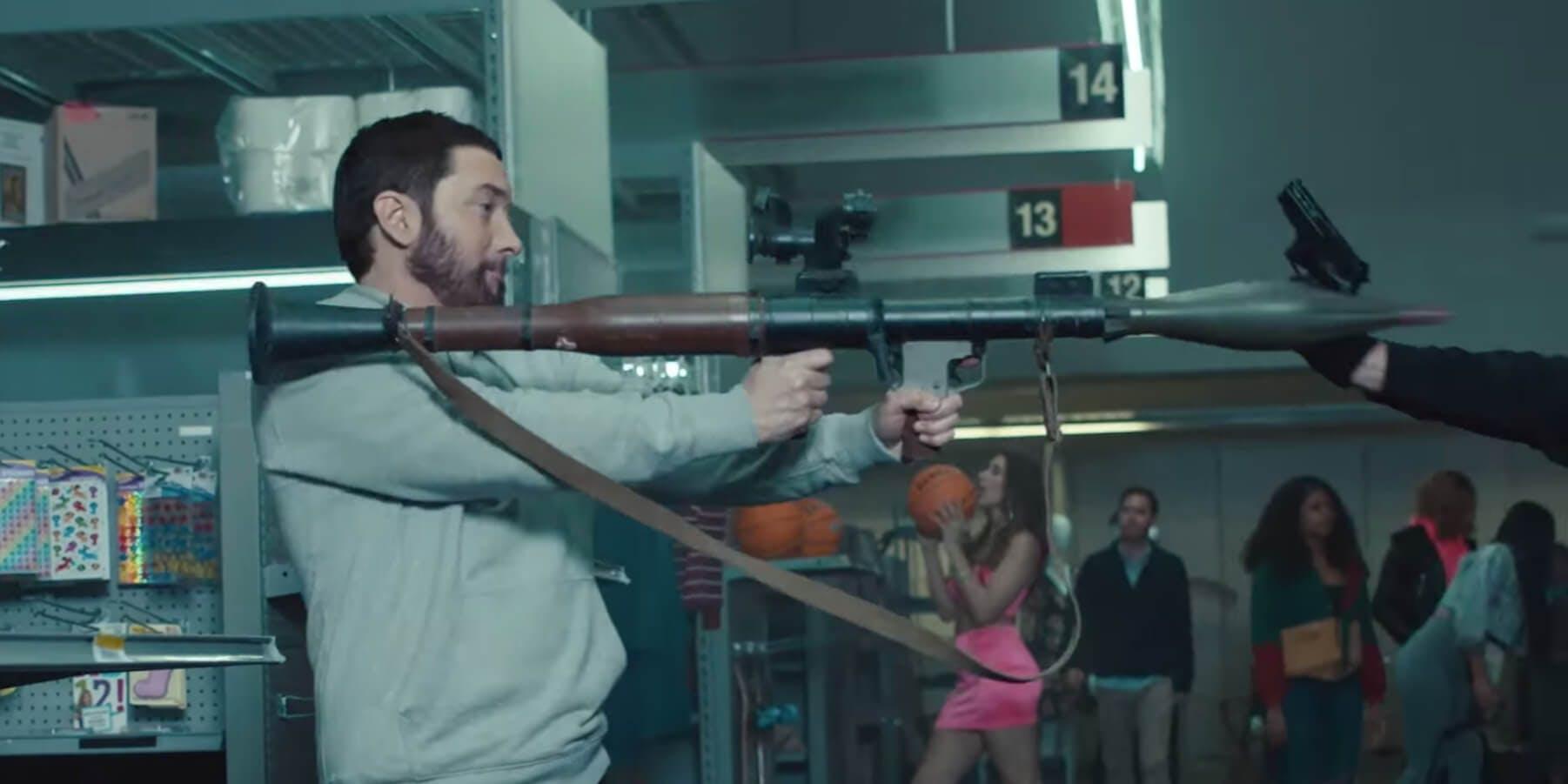 Eminem - rocket launcher