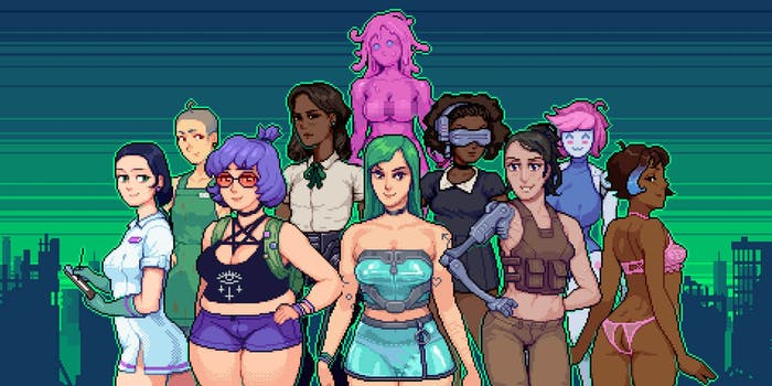Hardcoded Trans Porn Game