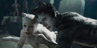 An image from the movie Cats