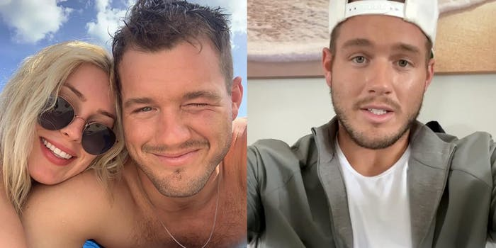 colton underwood from the bachelor