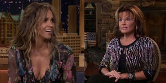 halle berry sarah palin related