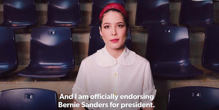 halsey-bernie-sanders-endorsement