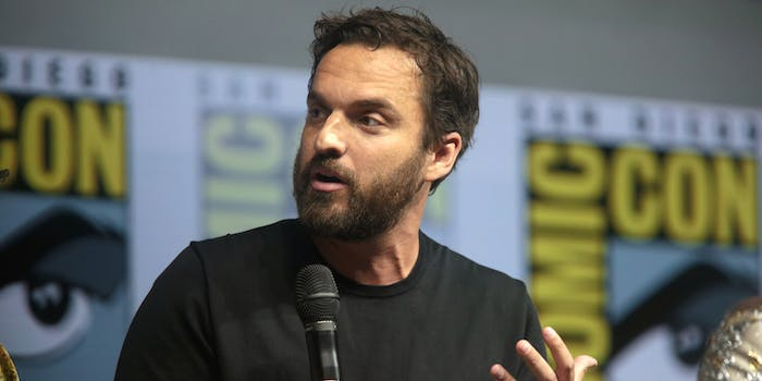 Jake Johnson Into the Spider-Verse voice message quarantine