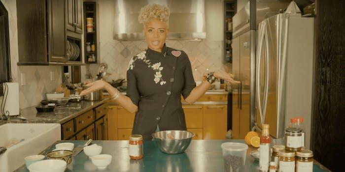 Kelis Netflix weed cooking show 4/20
