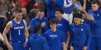 Kentucky basketball players