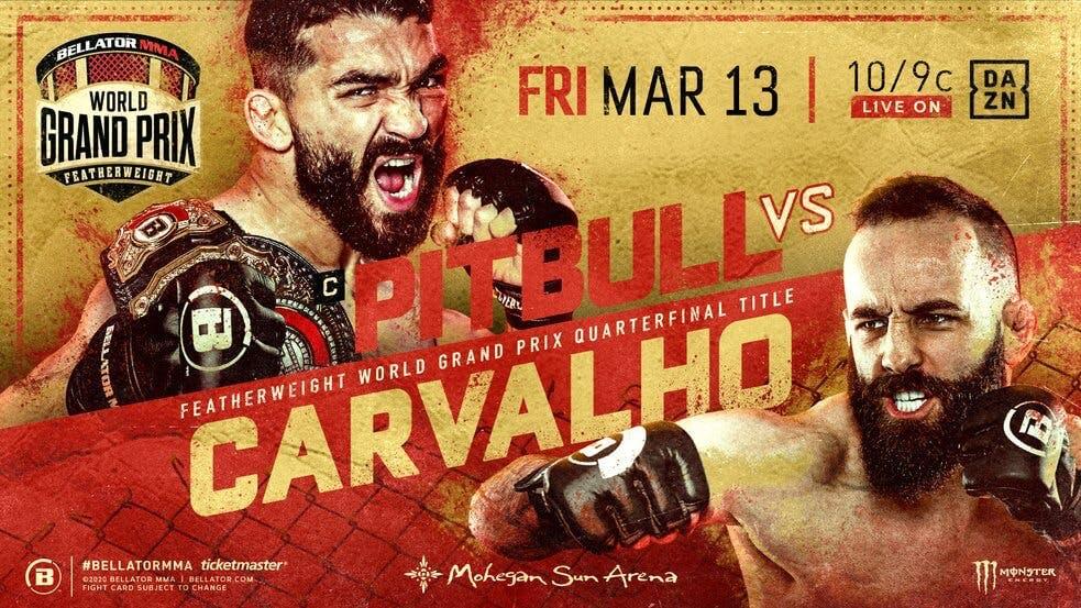 Pitbull Freire vs Pedro Carvalho live stream Bellator