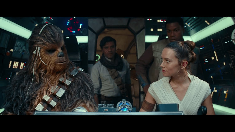 Star Wars rise of Skywalker cast