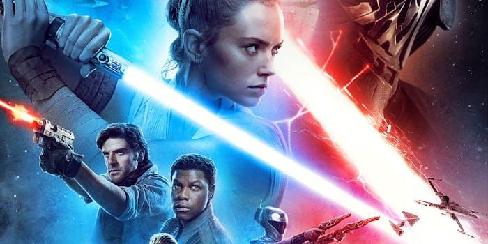 watch Star Wars rise of skywalker