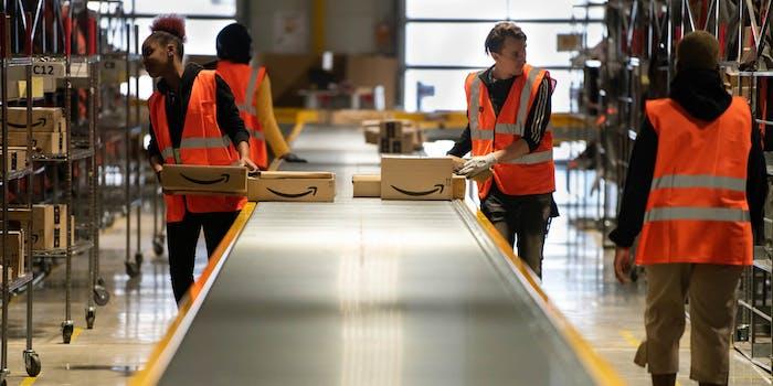 Amazon employee coronavirus death