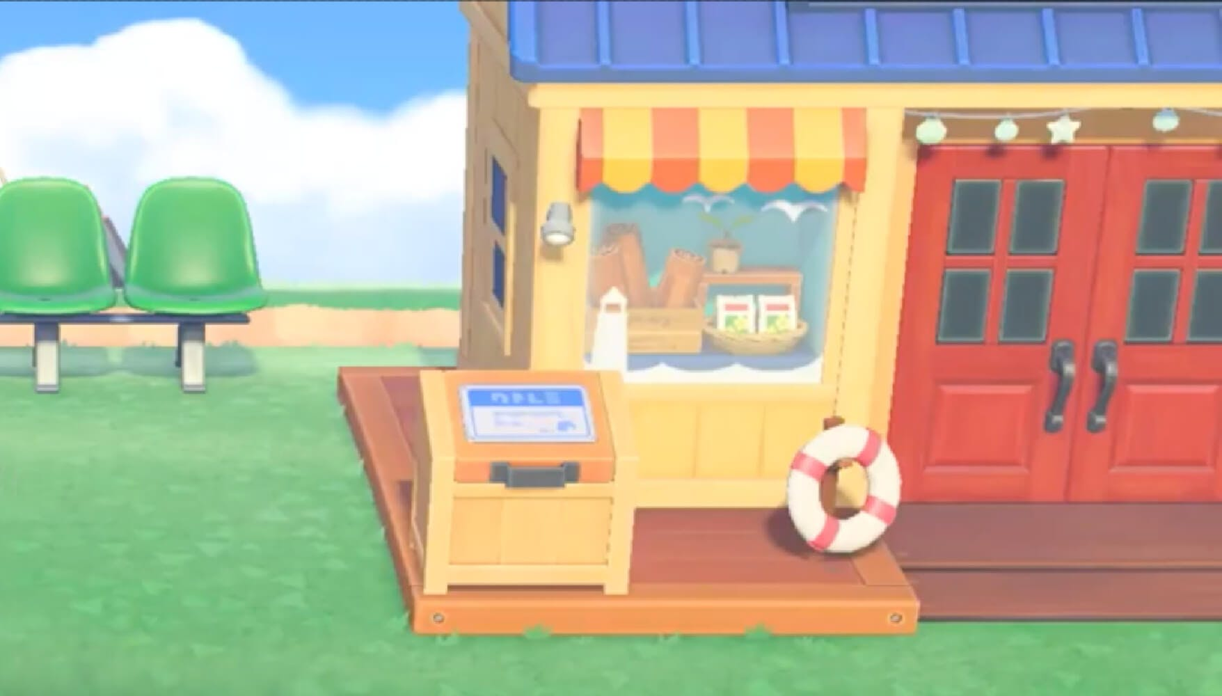 Animal Crossing: New Horizons details -- Nook's Cranny summer