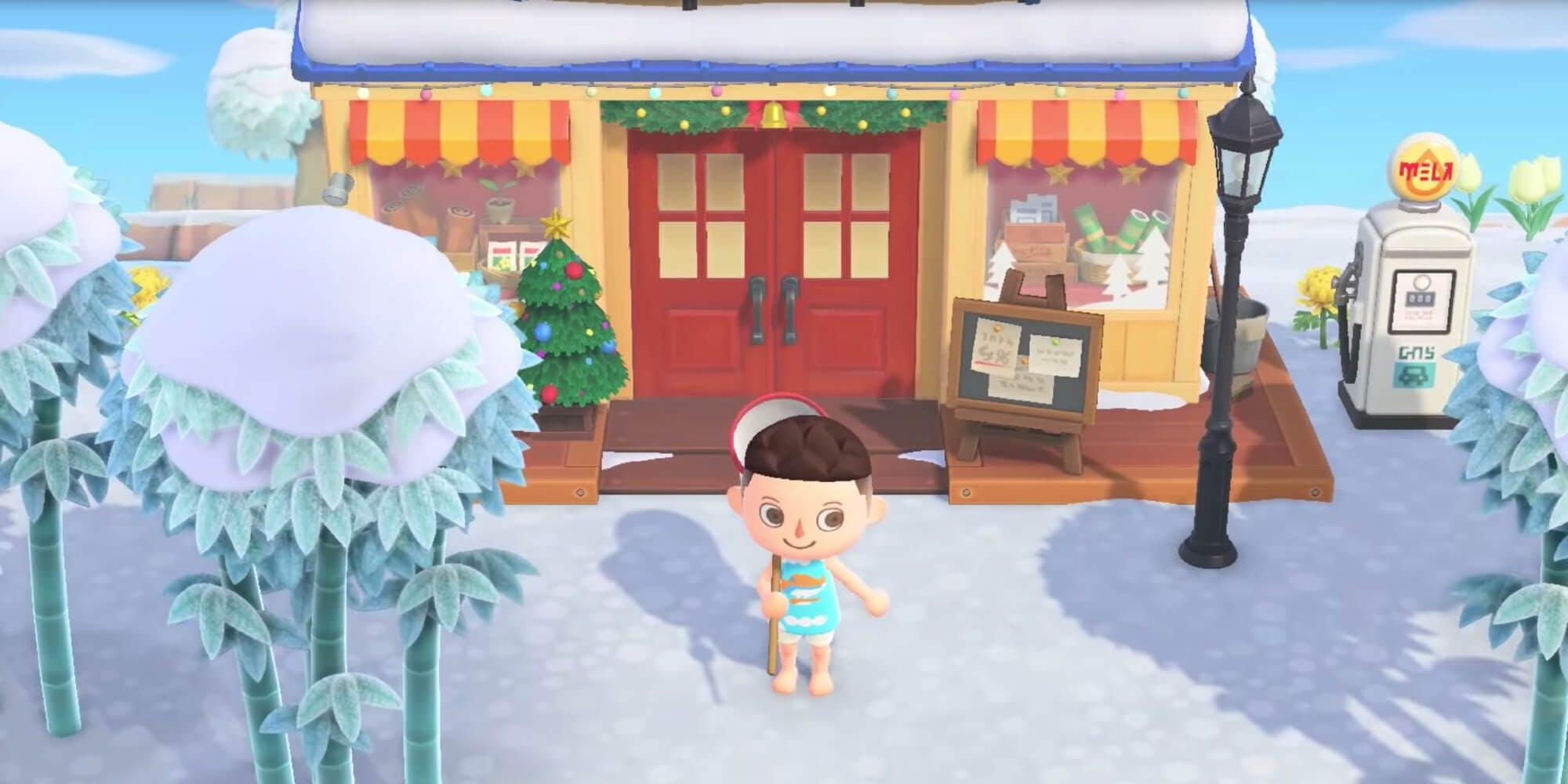 Animal Crossing: New Horizons -- Nook's Cranny Christmas