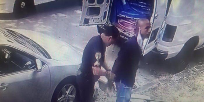 video police detain doctor armen henderson