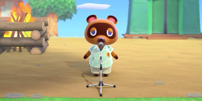 Tom Nook - Animal Crossing: New Horizons