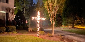 Erick Erickson burning cross