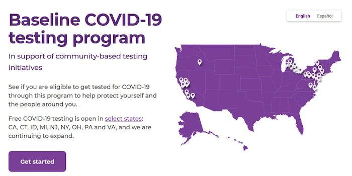 Google Verily Website Expands States Coronavirus