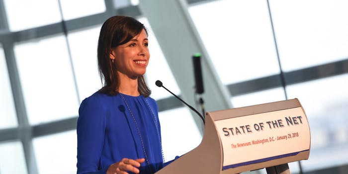 Jessica Rosenworcel FCC Broadband Report 2020