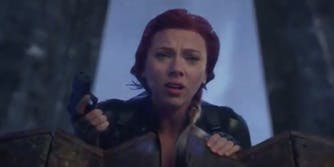 Natasha Romanoff - alternate scene
