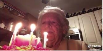 quarantined grandma alone birthday