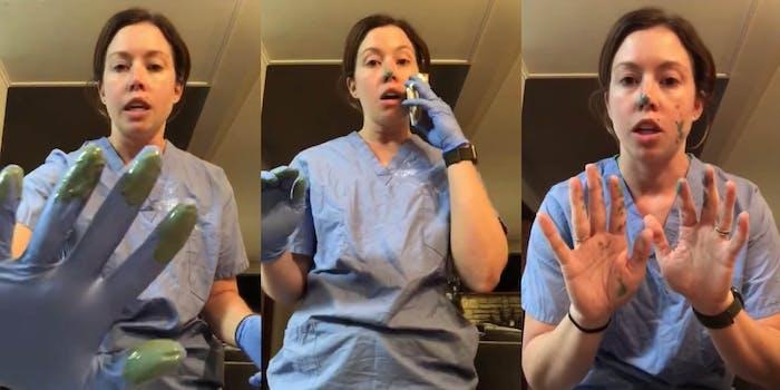 Nurse video - cross contamination