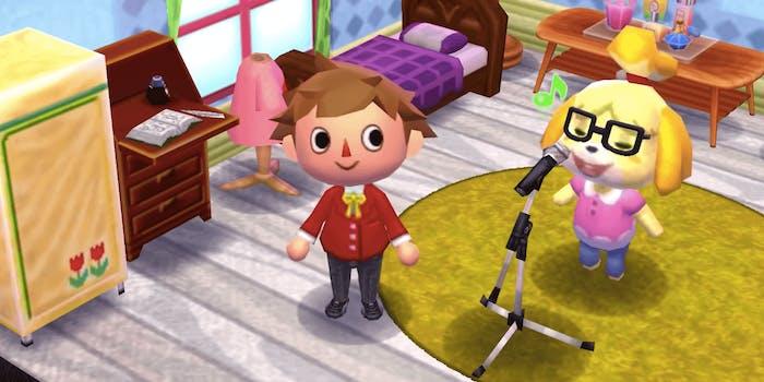 Animal Crossing Isabelle singing TikTok