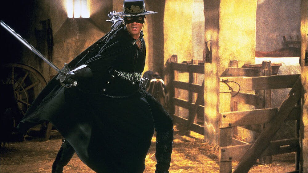 best movies netflix - mask of zorro