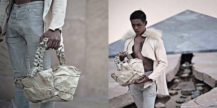 child spine handbag