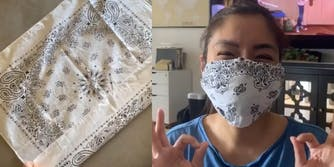diy coronavirus no-sew mask