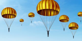 CEOs using golden parachutes