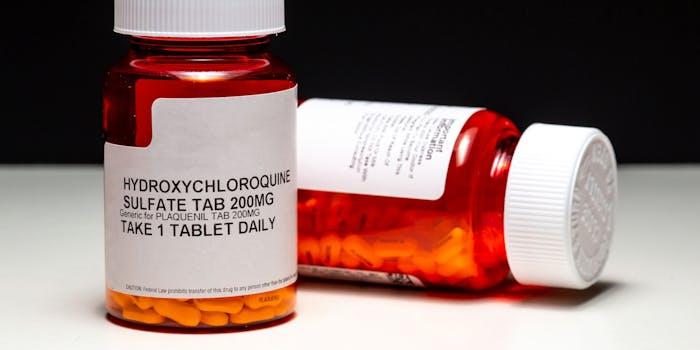 hydroxychloroquine chloroquine coronavirus dark web
