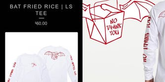 lululemon employee racist coronavirus t-shirt