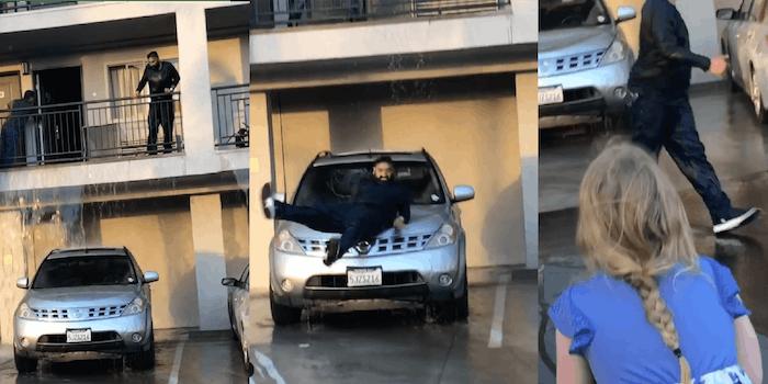 motel flooding viral video