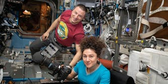 nasa astronauts ISS 2020