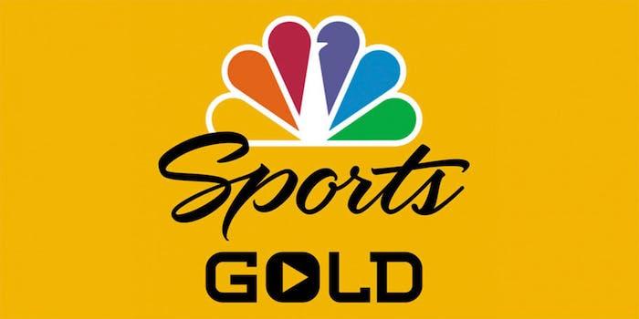 NBC Sports Gold logo