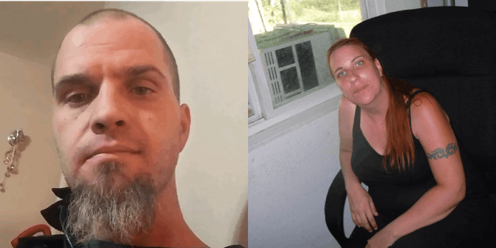 two people who are members of a neo-Nazi group