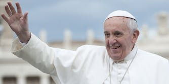 pope francis scotch is the real holy water