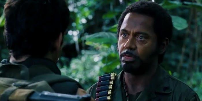 robert downey jr. tropic thunder blackface