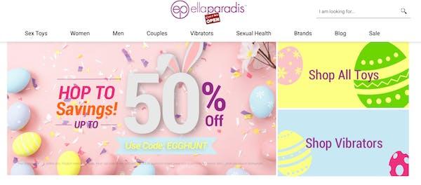 Easter savings at Ella Paradis