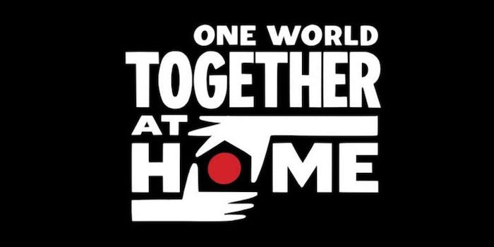 stream one world: together at home
