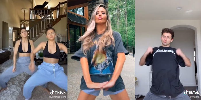 Teens dancing on TikTok to Bella's Lullaby from the Twilight soundtrack