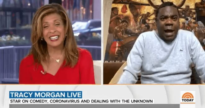 tracy morgan today interview