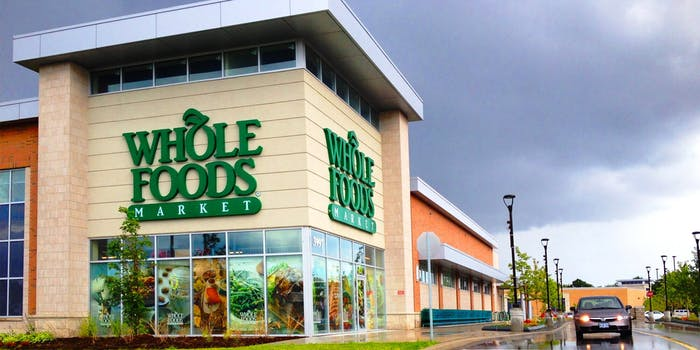 The front of a Whole Foods store