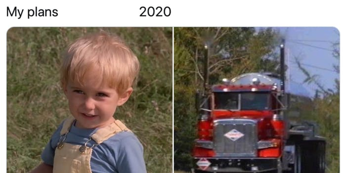 an example of a my plans 2020 meme