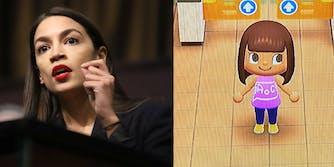 Alexandria Ocasio-Cortez - Animal Crossing