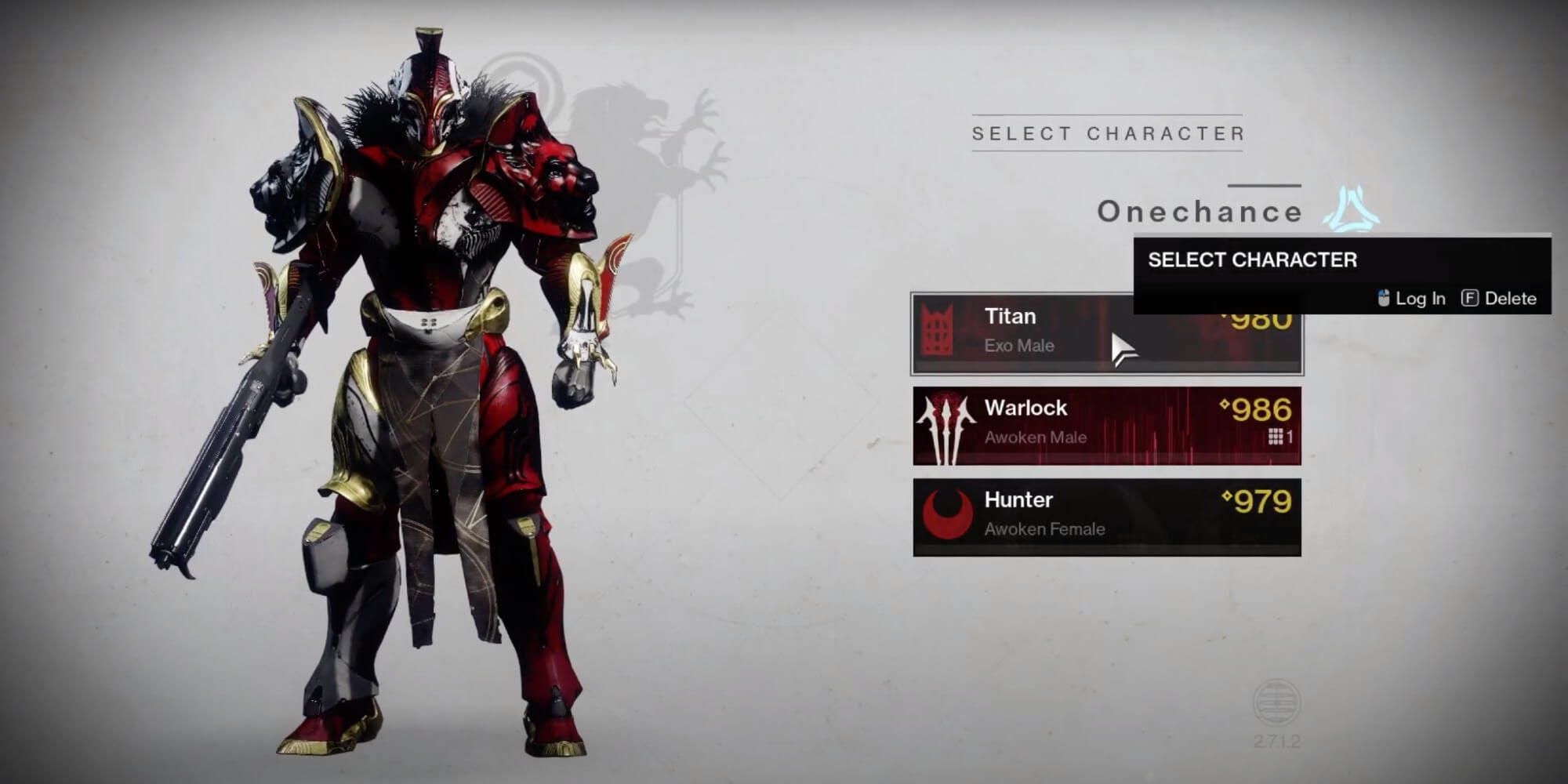 Destiny 2 classes - Titan