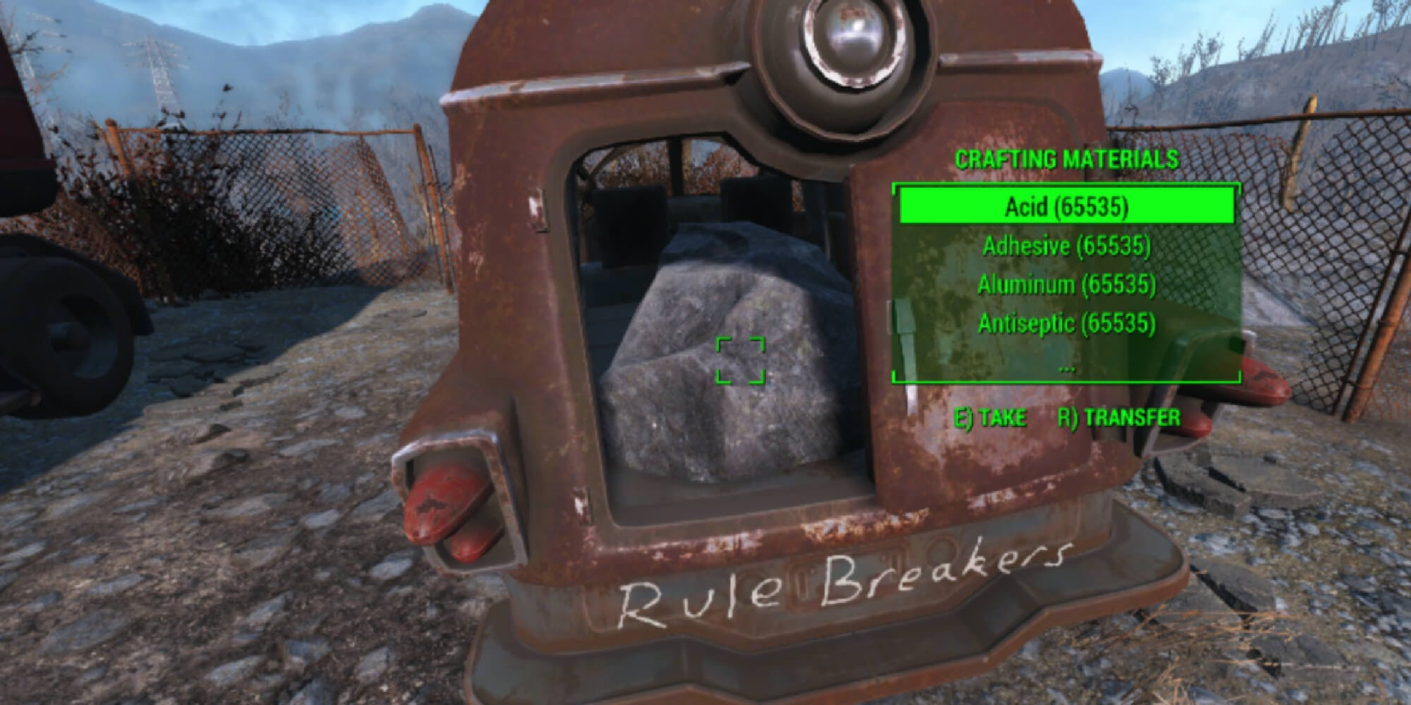 Photo of mod: Fallout 4 mods- unlimited crafting