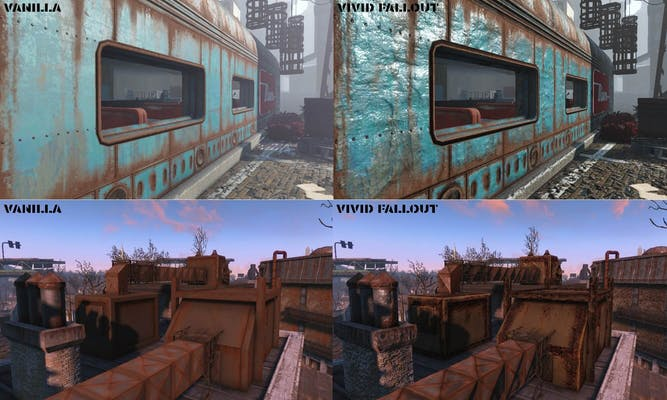 Photo of mod: Fallout 4 mods - texture